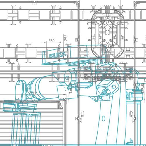 Ingenieurdienstleistungen für Layoutplanung